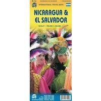 ITMB Wegenkaart Nicaragua & El Salvador