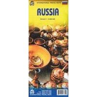 ITMB Landkaart Rusland - Europees Rusland En Siberië