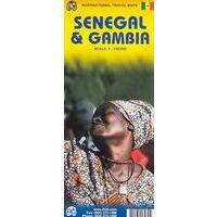 ITMB Wegenkaart Senegal & Gambia