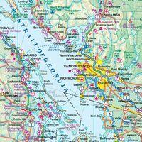 ITMB Wegenatlas Canada West & Noord