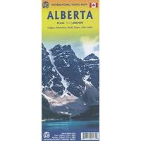 ITMB Wegenkaart Alberta 1:1.000.000