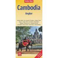 Nelles Wegenkaart Cambodja En Angkor Wat