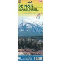 ITMB Wegenkaart Canadian Rockies