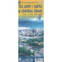 ITMB Wegenkaart Centraal Israël