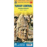 ITMB Wegenkaart Centraal Turkije Met Cappadocia