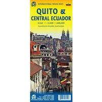 ITMB Wegenkaart Ecuador Centraal - Quito