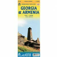 ITMB Wegenkaart Georgië En Armenië