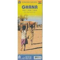 ITMB Wegenkaart Ghana 1:570.000