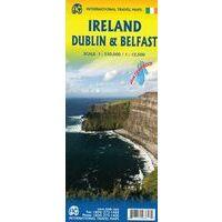 ITMB Wegenkaart Ierland En Noord-Ierland