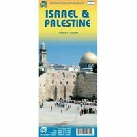 ITMB Wegenkaart Israël & Palestina