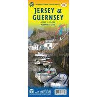 ITMB Wegenkaart Jersey En Guernsey