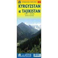 ITMB Wegenkaart Kirgizië - Tadzjikistan