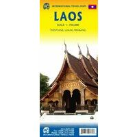 ITMB Wegenkaart Laos