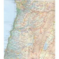 ITMB Wegenkaart Libanon & Beirut