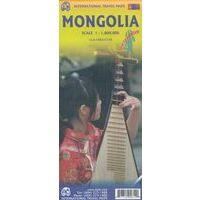 ITMB Wegenkaart Mongolië