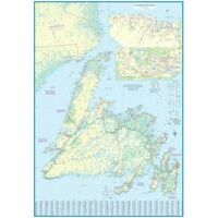 ITMB Wegenkaart Newfoundland & Labrador