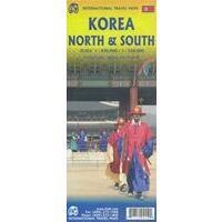 ITMB Wegenkaart Noord-Korea & Zuid-Korea