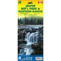 ITMB Wegenkaart Nationaal Park Jasper
