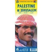 ITMB Wegenkaart Palestina - Jeruzalem