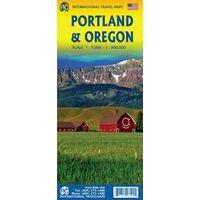 ITMB Wegenkaart Portland & Oregon