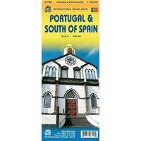 ITMB Wegenkaart Portugal & Zuid-Spanje