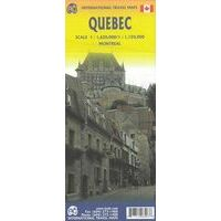 ITMB Wegenkaart Quebec