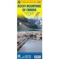 ITMB Wegenkaart Rocky Mountains Of Canada & USA