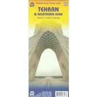 ITMB Wegenkaart Teheran & Noord Iran