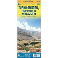 ITMB Wegenkaart Turkmenistan