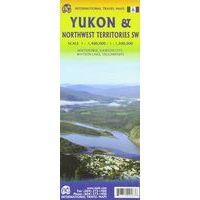 ITMB Wegenkaart Yukon & Northwest Territories SW