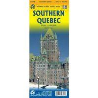 ITMB Wegenkaart Zuidelijk Quebec