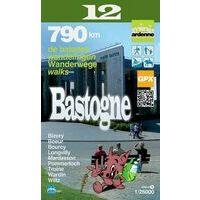 Mini Ardenne Wandelkaart 12 Bastogne