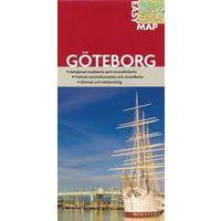 Norstedts Zweden Stadsplategrond Göteborg 1:6.000