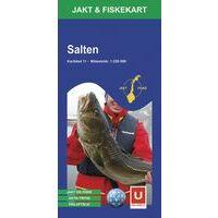 Ugland Jacht- & Viskaart Nr 11 Salten