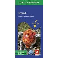 Ugland Jacht- & Viskaart Nr 13 Troms