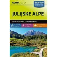 Kartografija Wandelkaart Julische Alpen