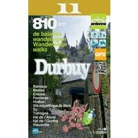 Mini Ardenne Wandelkaart 11 Durbuy 1:25.000