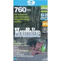 Mini Ardenne Wandelkaart 9 Houffalize 1:25.000