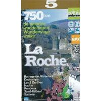 Mini Ardenne Wandelkaart 5 La Roche En Ardenne 1:25.000