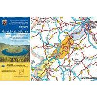 LVA Rheinland Pfalz Wandelfietskaart Mosel Erlebnis Route 1:50.000
