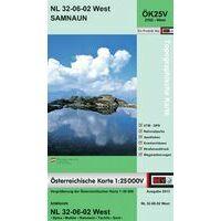 Bundesamt Für Eich- Und Vermessungswesen Topografische Kaart 2102WK Samnaun