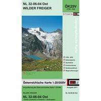 Bundesamt Für Eich- Und Vermessungswesen Topografische Kaart 2104OK Wilder Freiger