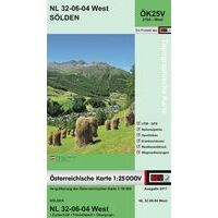 Bundesamt Für Eich- Und Vermessungswesen Topografische Kaart 2104WK Solden