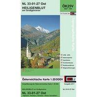 Bundesamt Für Eich- Und Vermessungswesen Topografische Kaart 3227OK Heiligenblut