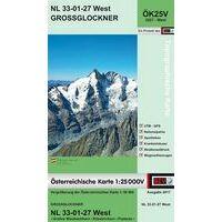 Bundesamt Für Eich- Und Vermessungswesen Topografische Kaart 3227WK Grossglockner