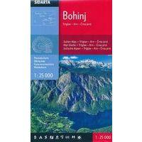 Sidarta Wandelkaart Bohinj 1:25.000