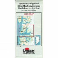 Kaarten Overig Wandelkaart Ilulissat 1:100.000 (Noord-Groenland)