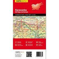 Kartografija Wandelkaart Karawanken (Kepa To Kosuta)
