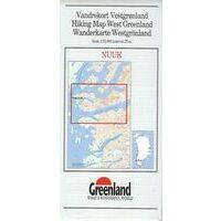Greenland Wandelkaart Nuuk 1:75.000
