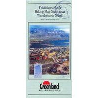 Greenland Wandelkaart Nuuk Omgeving 1:20.000